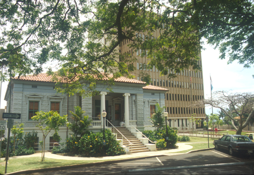 Old Maui County Courthouse (Built 1907), Wailuku, Hawaii