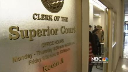 California Superior Court Clerk's Office  Monday - Thursday 8:30 a.m.   to 2:00 p.m.   Friday 8:30 a.m. to 12:00 p.m.